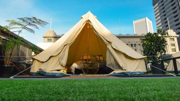 Rooftop Glamping In Melbourne S Cbd Stuff Co Nz