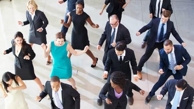 Dancing like everyone's watching - the way to happiness?