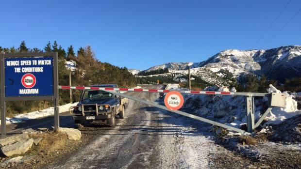 Mt Hutt's access road has had several improvements ahead of the 2016 season.