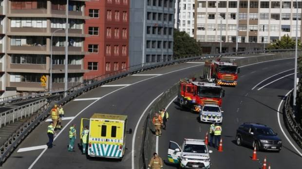 Two die in motorcycle crash by wellington 39 s terrace tunnel for 1 the terrace wellington
