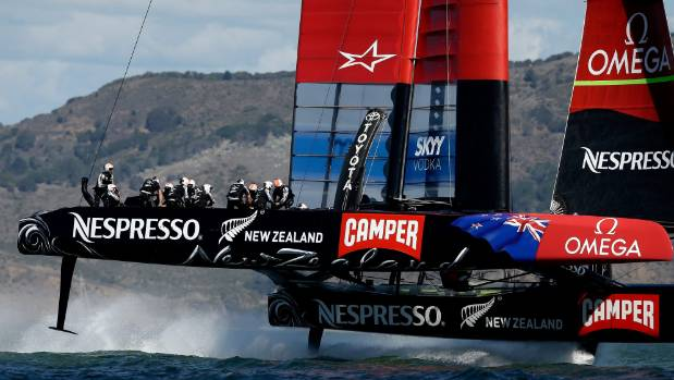 The Kiwi boat's ability to foil upwind had been a huge advantage, until Oracle learned to do the same.