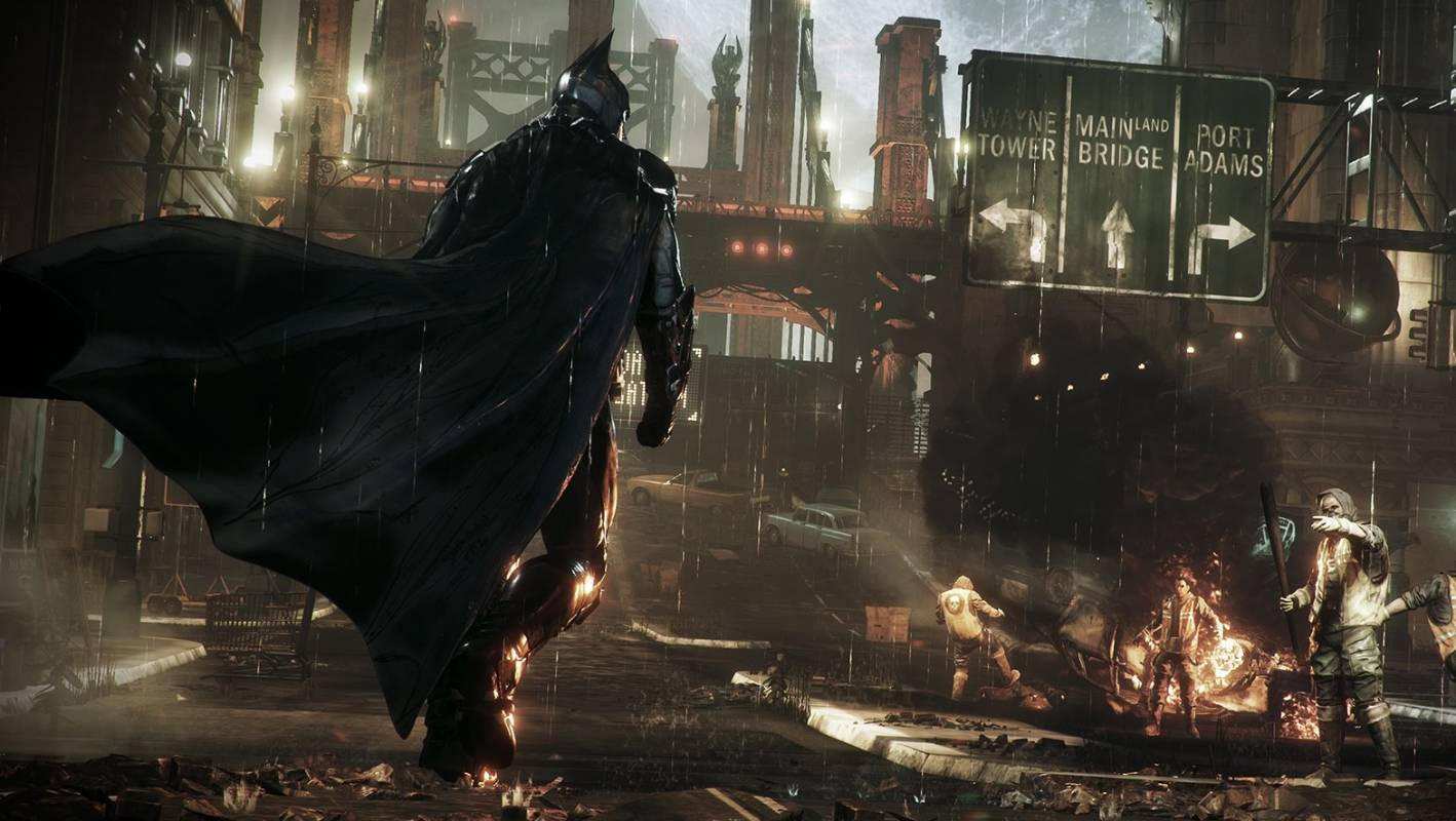 batman assault on arkham game ps4