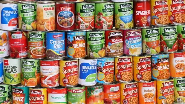Storing Canned Food In Garage