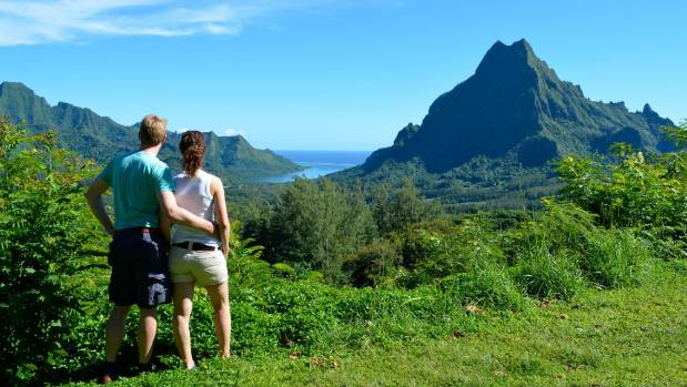 Hiking Moorea's stunning mountains is an unforgettable experience.