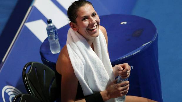 Joelle King has taken out her second Australian Open title.