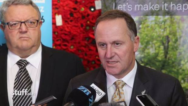John Key and Gerry Brownlee announce a new plan for Canterbury's rebuild on Thursday.