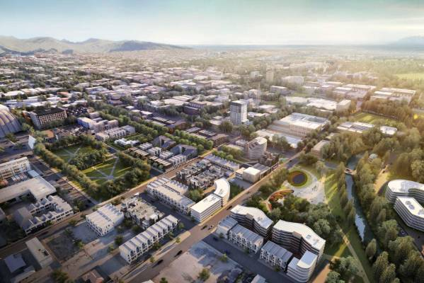 Fletcher Living's proposal to rebuild Christchurch's east and north frame includes construction of about 940 townhouses ...
