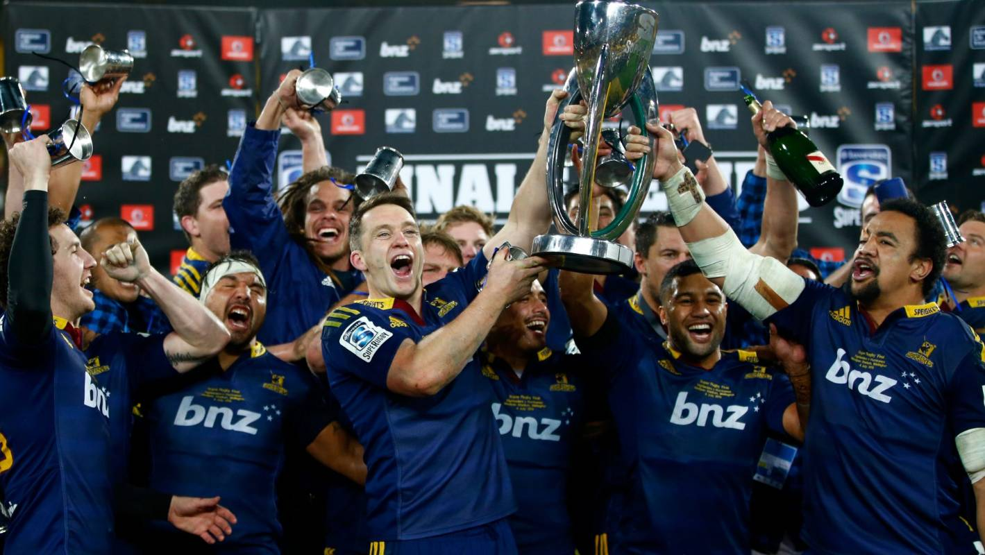 Highlanders upset Hurricanes to claim first Super Rugby ...