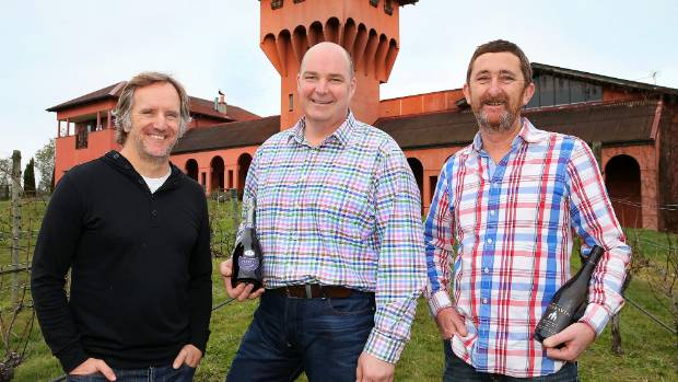 Former Highfield Estate staffers, from left, Al Soper and Peter Coldwell have joined forces with TerraVin winemaker ...