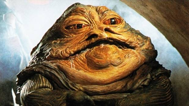 Jabba the Hutt: Former Masterchef judge and future Star Wars spin-off