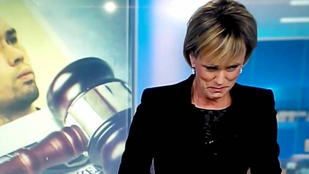 TV3's Hilary Barry gets emotional about the departure of colleague John Campbell.
