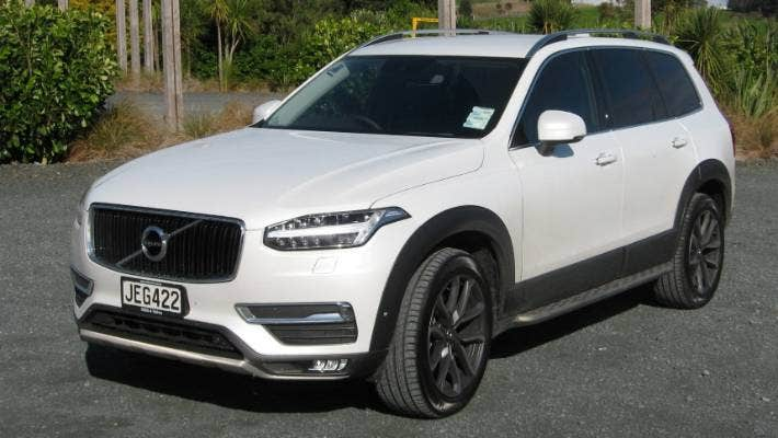 Volvo Launches Big New Xc90 In New Zealand Stuff Co Nz