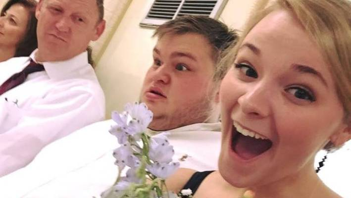 Ashley Stevens May Have Caught The Bouquet But It Looks Like Boyfriend Christopher Reed Has