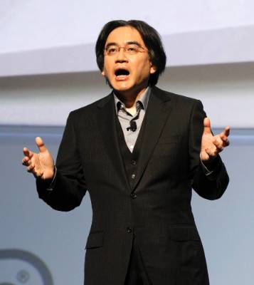 Satoru Iwata, President of Nintendo at the Electronic Entertainment Expo, or E3, in Los Angeles June 7, 2011.