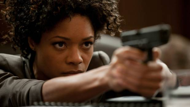 Naomie Harris plays Eve Moneypenny in the latest James Bond series starring Daniel Craig.