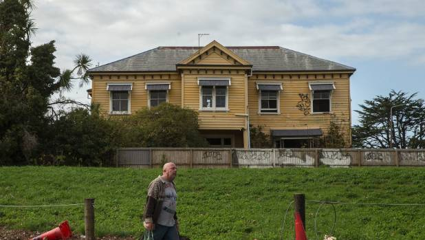 An abandoned house in the Christchurch residential red zone. All of our houses have stories, says writer Fiona Farrell.