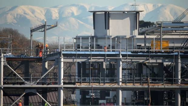 Experts differ on whether christchurch rebuild has peaked for Landscape contractors christchurch