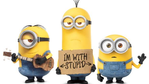 Why are there are only male minions?