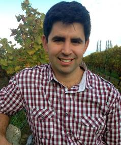 Reigning young viticulturist of Marlborough champion Brenton O'Riley.