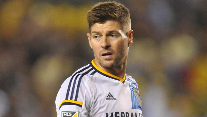 bf8351b7b Steven Gerrard scored on his MLS debut for the LA Galaxy against the San  Jose Earthquakes