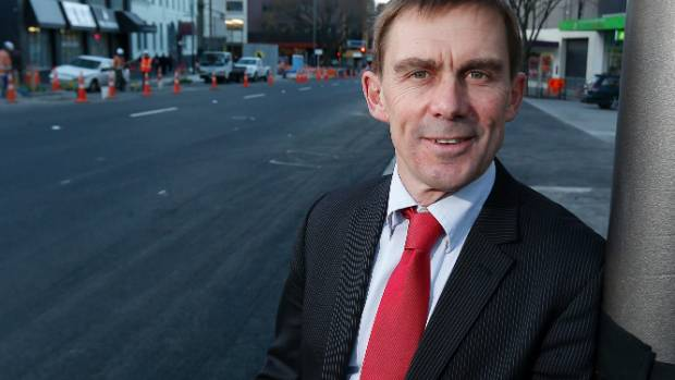Wellington city councillor Andy Foster says if roads are safer hopefully more kids will walk, bike or scooter to school.