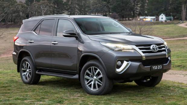 toyota confirms new suv model for new zealand. Black Bedroom Furniture Sets. Home Design Ideas