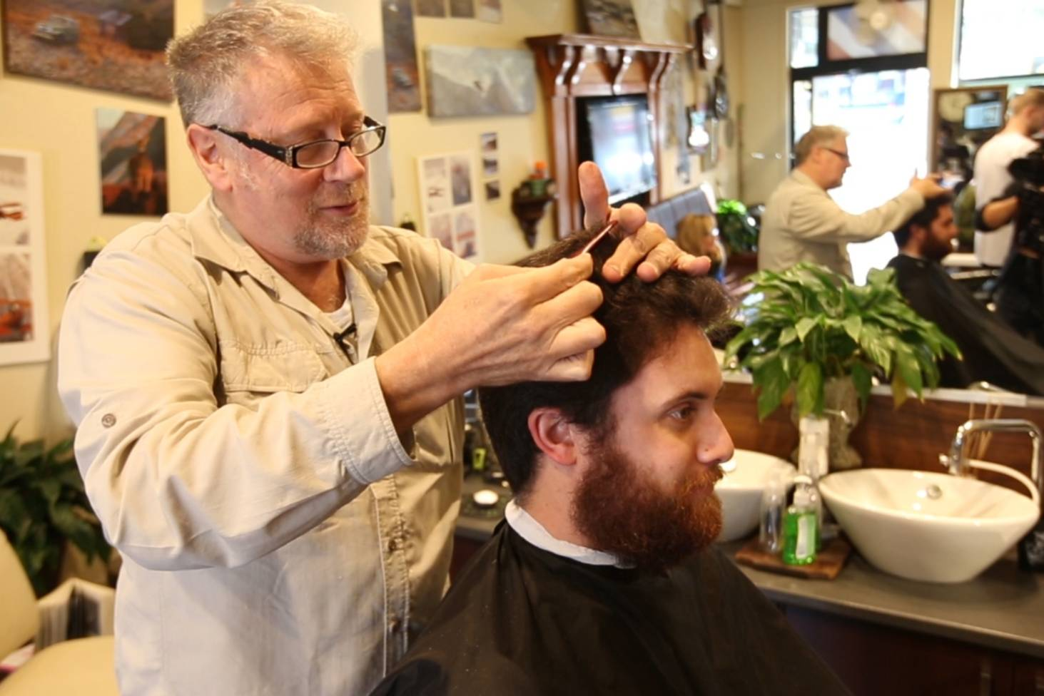 Hairy Times For Wellington Barber Shops Stuff
