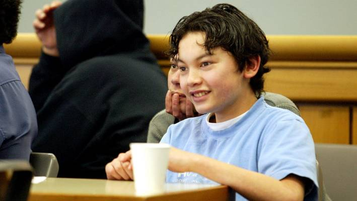 Bailey Junior Kurariki, who was found guilty of the murder of Michael Choy & # 39; He was 12 years old.