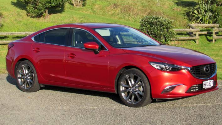 Facelift Adds To Mazda6 Appeal Stuff Co Nz