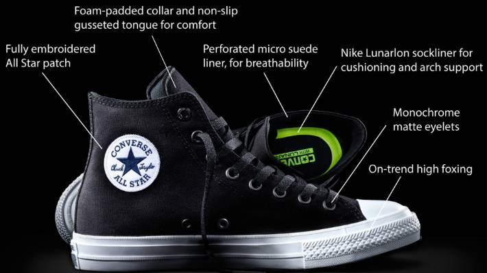 cdd6b791748a The Converse Chuck II claims to actually be comfortable. Quite a change from  the oh