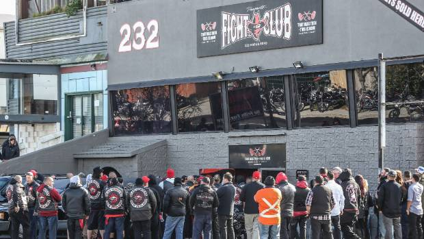 The known Head Hunters hangout Fight Club 88 on Marua Rd in Ellerslie is also the trust's registered premises.
