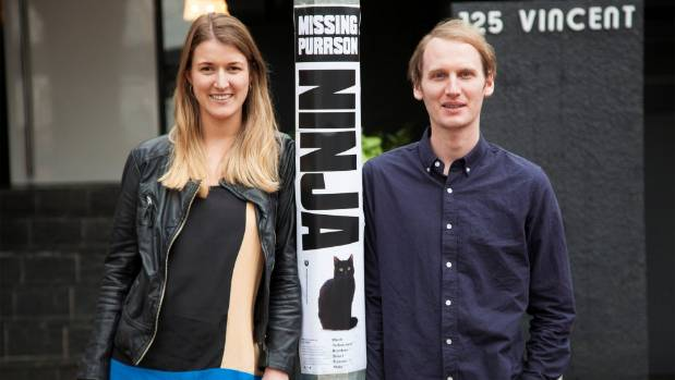 Graphic designers Alice Murray and Jared McDowell have designed their own missing cat posters to help cat-owners find ...
