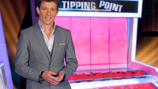 Ben Shephard might be the host of Tipping Point, but it's the machine that is the star.