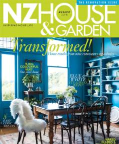 NZ House & Garden Magazine's August issue is out now.
