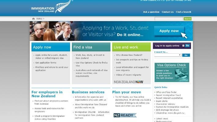 new zealand working visa