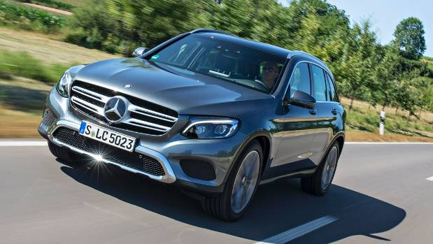 Mercedes benz glc ups luxury suv battle for Mercedes benz luxury suv