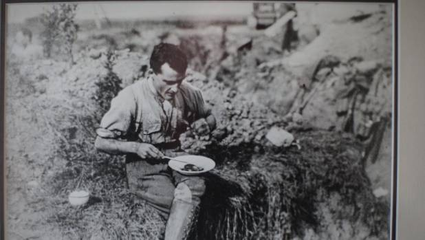 Victoria Cross winner Cyril Bassett, who fought at Chunuk Bair.