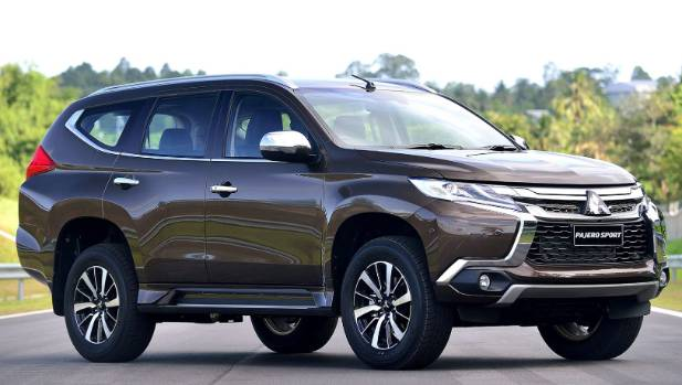Angular design lends a whole new modern look to the Pajero and Challenger line-ups.