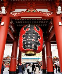 Senso-ji temple offers a glimpse of a bygone Japan that can be difficult to find in contemporary Tokyo.