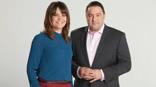 Heather du Plessis-Allan and Duncan Garner.