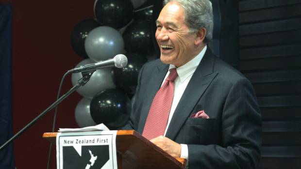 Our Politician of the Year - NZ First leader Winston Peters