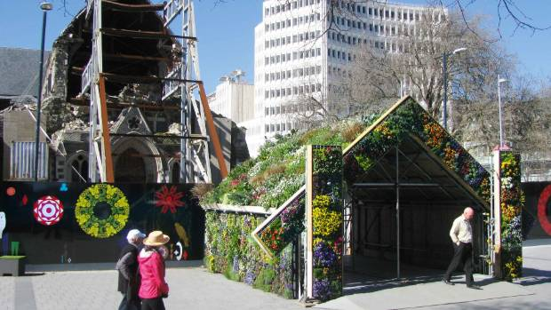 The earthquake-damaged Christ Church Cathedral is one factor preventing property owners repairing their inner-city buildings.