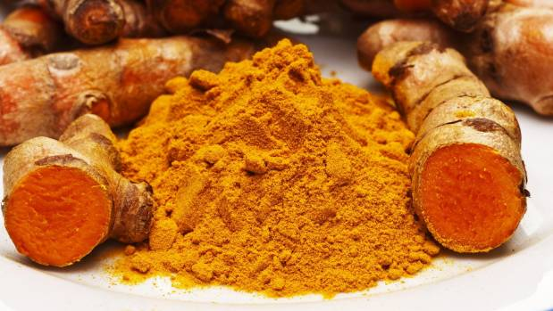 Turmeric contains curcumin, which assists blood flow.