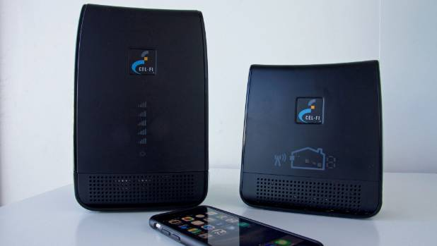Cel-Fi Repeater boosts the mobile signal around your home.