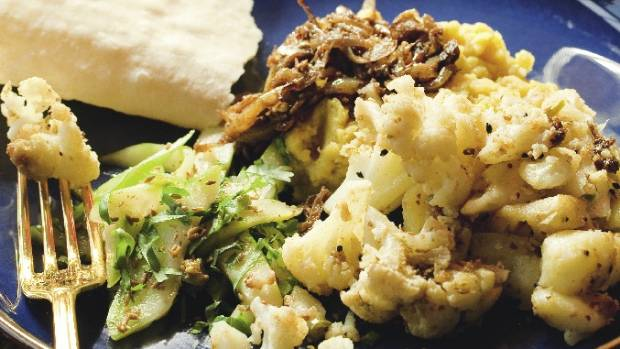 Recipe cauliflower potatoes with mustard seeds chilli stuff next food wine story forumfinder Choice Image