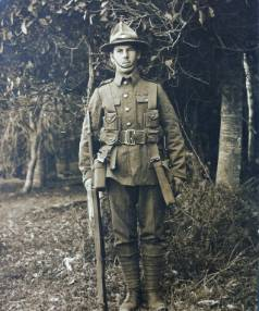 WWI Prisoner of War, Private William Robert Surgenor who was presumed killed in the battle of Chunuk Bair.