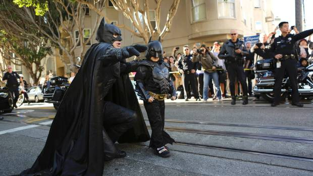 Philosopher Peter Singer says the money used to make leukaemia survivor Miles Scott Batkid for the day could have been ...