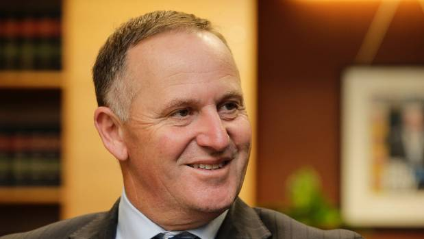 "Prime Minister John Key says only one-third of the protesters marching against the TPP on Saturday were ""genuine''."