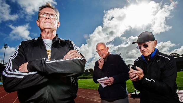 Forty years on from smashing the world record for the mile, Sir John Walker (left) remembers that day with longtime ...