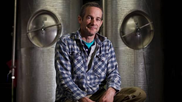 Upper Moutere craft brewer Martin Townshend.